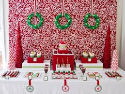 christmas party table decorations red christmas table decorations