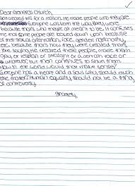dear church letters from young people about welcoming