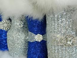 i want this royal blue and grey wedding decor google