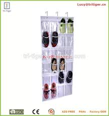 shoe rack hanging hanging shoe rack organizer over door multipurpose pockets vinyl