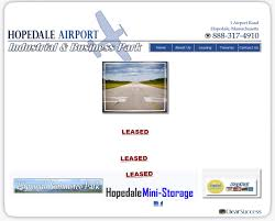 hopedale airport industrial park