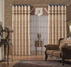 Drapery Ideas Curtain Designs Living Room Layer Curtains In The Living Room