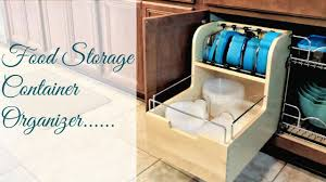 how to organize food storage containers the best food container
