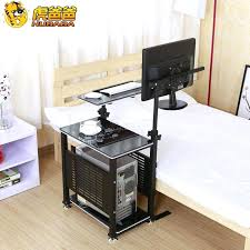 Swivel Laptop Desk Fascinating Adjustable Bedside Table For Home Design