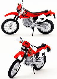 motocross bikes honda honda xr 400r 1 18 diecast toy model motocross bike matt
