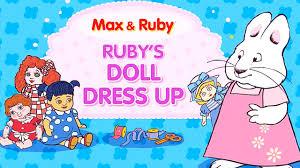 Max Ruby Costumes Halloween Max Ruby Ruby U0027s Doll Dress Max Ruby English