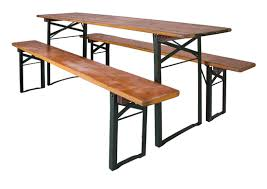 german beer garden table and bench german beer hall table and two benches 295 oktoberfest tyrol