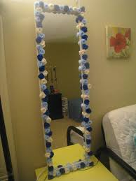 Remarkable How To Decorate A Mirror With Glass Stones