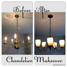 How To Make A Fake Chandelier Re Paint Old Gold Light Fixtures Saves A Ton Of Home Sweet