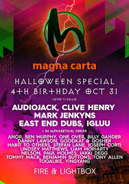 birthday halloween ra magna carta 4th birthday halloween special at fire london 2015