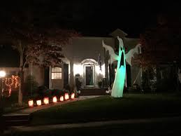 halloween decorating spending in scotch plains fanwood and
