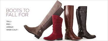 womens boots jcpenney dress boots low heel