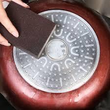 cuisine magique 1 pc nano carborundum éponge matériau détartrage de nettoyage