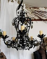 Gothic Chandelier Wrought Iron 67 Best Chandeliers Images On Pinterest Chandeliers Industrial