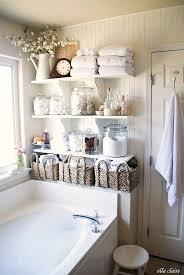 Clever Bathroom Storage Ideas Best 25 Bathtub Storage Ideas Only On Pinterest Basket Bathroom