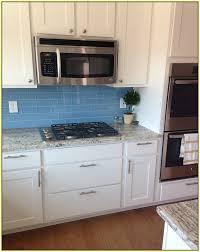 Light Blue Glass Subway Tile Backsplash Home Design Ideas Light - Blue backsplash tile