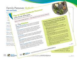 passover items tips to safely celebrate passover with food allergies kids with