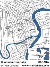 winnipeg map city map of winnipeg manitoba canada