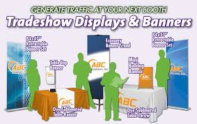 table banners and signs abc printing signs tradeshow displays banners