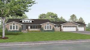 8 rustic craftsman home plans craftsman style ranch house plans