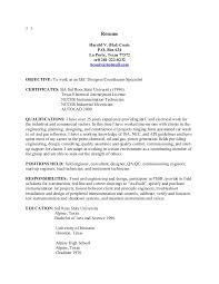 Instrumentation Project Engineer Resume Total Commander Resume Copy Sample Resume For A Customer Service