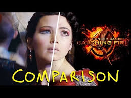 the hunger games catching fire trailer homemade vs original side