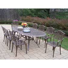 9 Piece Patio Dining Set - 9 piece outdoor dining sets square gallery dining