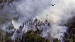 Alaska Wildfire Safety by Wildfires Cross Alaska Canada Border Youtube