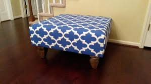coffee table marvelous blue fabric ottoman leather storage