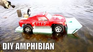 amphibious car rc amphibious car airboat youtube