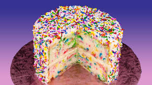 funfetti cake recipe birthday cake with rainbow sprinkles from