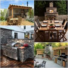 10 Amazing Small Kitchen Design 10 Amazing Outdoor Barbecue Kitchen Designs