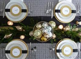 table ideas decorating with silver and gold