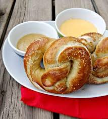 honey mustard pretzel dip celebrate national pretzel day with honey mustard pretzel dipping