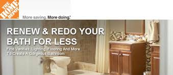 Renew  Redo Your Bath For Less Sale At The Home Depot Home - Home depot bath design