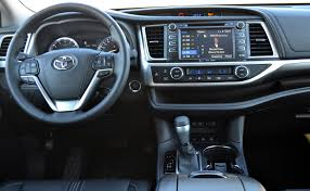 toyota highlander 2016 interior highlander gives confidence in any weather wheels ca