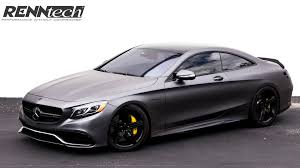 mercedes s63 amg black mercedes s63 amg coupe taken to 708 hp by renntech 0 images