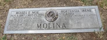 moises e molina high school yearbook moises e molina 1947 1994 find a grave memorial