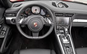 porsche 911 turbo s interior german icons 2012 porsche 911 carrera s automobile magazine