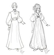 costume design wealthy ladies by taeliac on deviantart