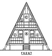 free a frame house plans free a frame cabin plans free a frame