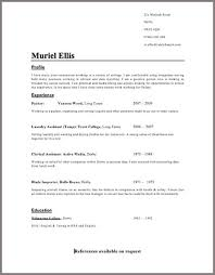 Resume Copy And Paste Template Copy Resume Format How To Format A Copy And Paste Resume