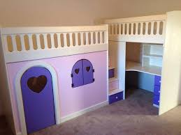 Double Bunk Beds With Play Den And Desk  Andersons Themes And Dreams - Double bunk beds