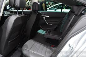 opel insignia 2015 2015 opel insignia 2 0 litre cdti rear seat at the 2014 paris