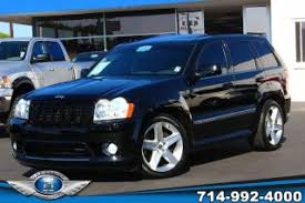 jeep srt8 prices used jeep grand srt8 for sale in los angeles ca from