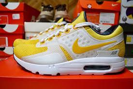 nike air max zero white yellow tinker hatfield sneakerfiles