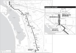 San Diego Public Transportation Map by Route 929 Timetables