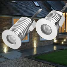 Patio Paver Lights 12v Ip67 Waterproof Outdoor Led Recessed Deck Floor Light Spot