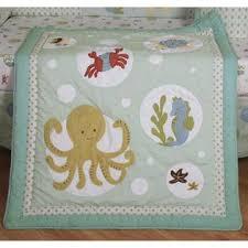 Geenny Crib Bedding Geenny Sea World Animals 13pcs Crib Bedding Set