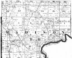 Milford Ohio Map by 1836 Butler Co Ohio Plat Maps Kowallek Family On The Web